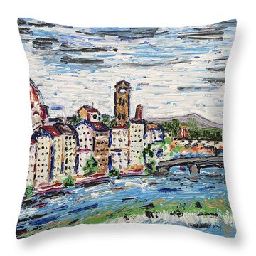 Fantastic Florence Italy Throw Pillow