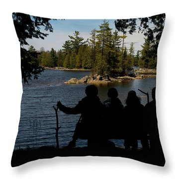 Fantastic Four Throw Pillow