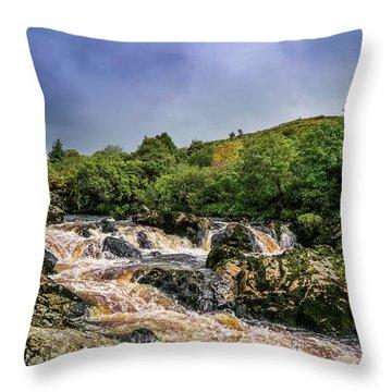 Fantastic River Throw Pillow
