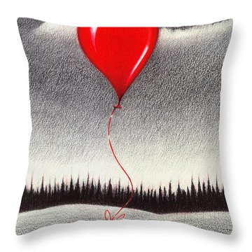 Fantasy And Reality Throw Pillow