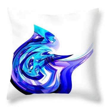 Fantasy Bird Throw Pillow by Thibault Toussaint