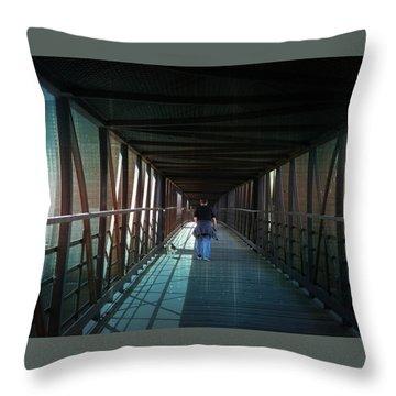 Fantasy Bridge Throw Pillow