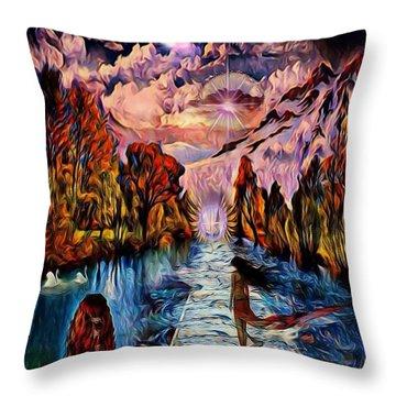 Fantasy Dream Throw Pillow