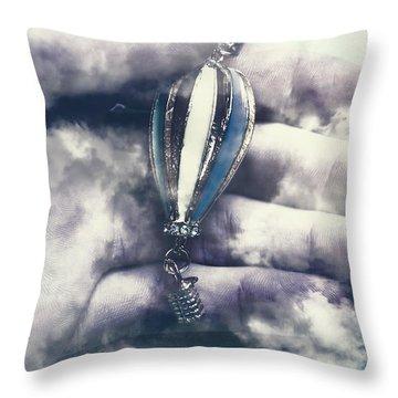Fantasy Flights Throw Pillow
