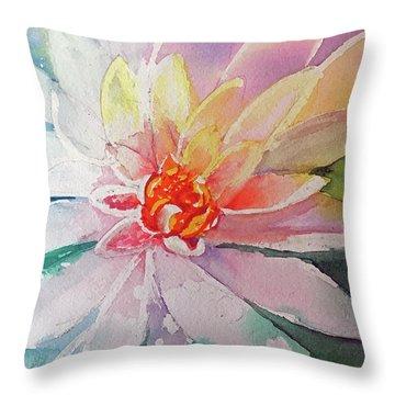 Fantasy Flower Throw Pillow