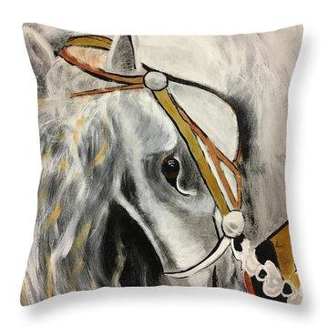 Fantasy Horse Throw Pillow
