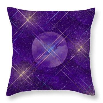 Fantasy Moon Throw Pillow