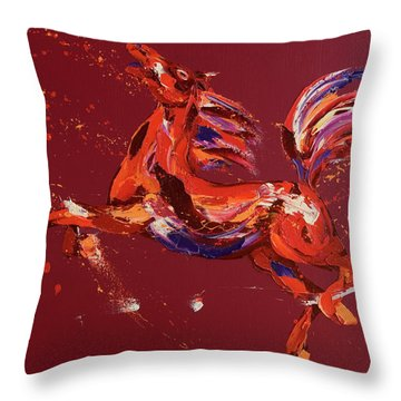 Fantasy Throw Pillow by Penny Warden