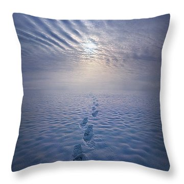 Throw Pillow featuring the photograph Far And Away by Phil Koch