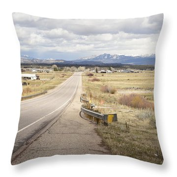 Far Horizon Throw Pillow