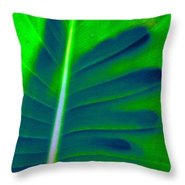 Far Reaching Throw Pillow by Gwyn Newcombe