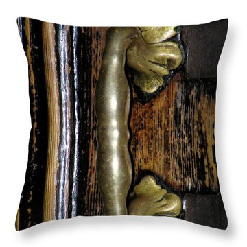 Fara Church Poznan Throw Pillow