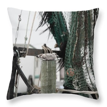 Fare Friends Throw Pillow