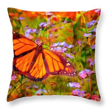 Farfalla 2015 Throw Pillow