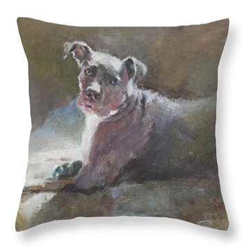 Faris 2 Throw Pillow