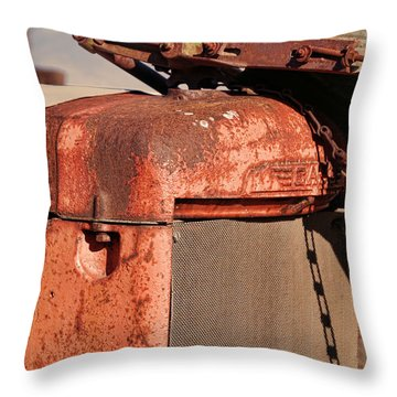Throw Pillow featuring the photograph Farm Equipment 8 by Ely Arsha