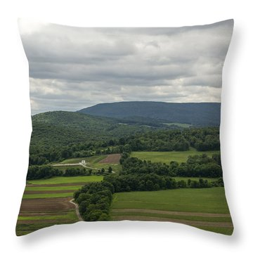 Farm Land Throw Pillow
