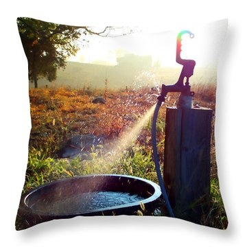 Farm Life 5 Throw Pillow
