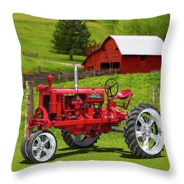 Farmall Special Throw Pillow