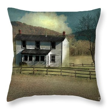 Farmhouse Throw Pillow by Kathy Russell