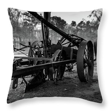 Farming Equipment Throw Pillow