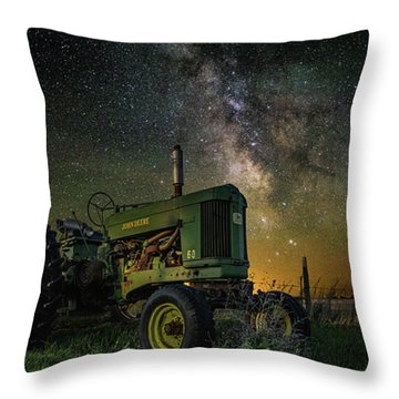 Farming The Rift 3 Throw Pillow