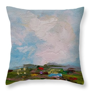 Farmland II Throw Pillow