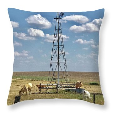 Farmlife Memories Throw Pillow