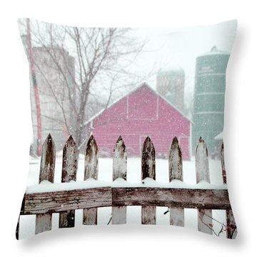 Farmline Christmas Throw Pillow