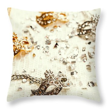 Necklace Throw Pillows