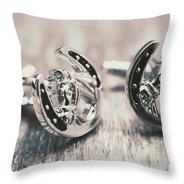 Fashion Links To The Melbourne Cup Throw Pillow