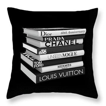 Fashion Or Fiction Throw Pillow