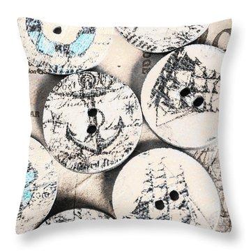 Fashioning The Ship Quarters Throw Pillow
