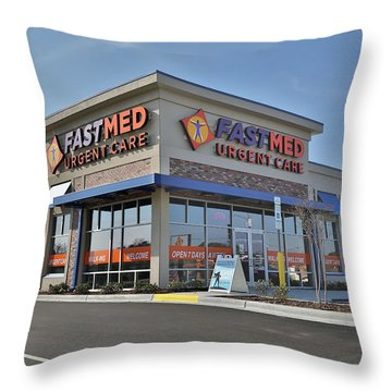 Fast Med Throw Pillow