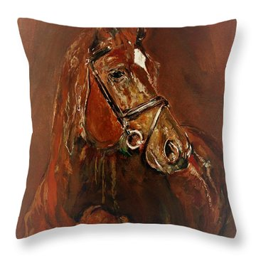 Fasten With A Buckle Throw Pillow
