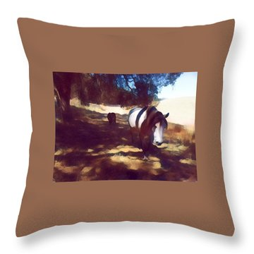 Fat Camp Throw Pillow