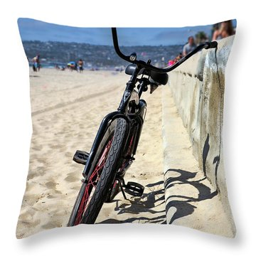 Fat Tire - Color Throw Pillow