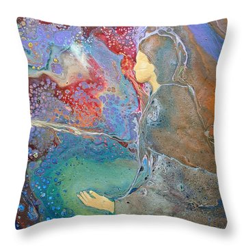 Father Of Lights Throw Pillow