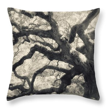 Throw Pillow featuring the photograph Father Time by Amy Tyler