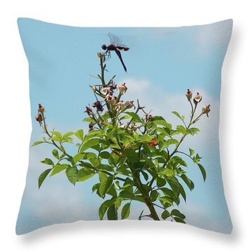 Fathers Day Visit Throw Pillow