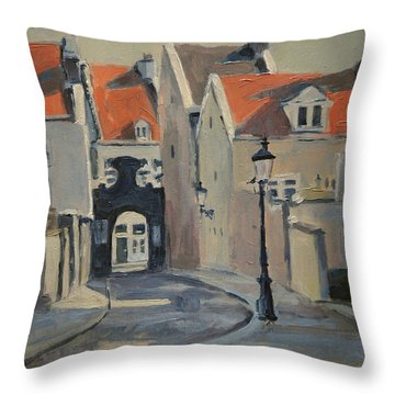 Fathers Gate Maastricht Throw Pillow