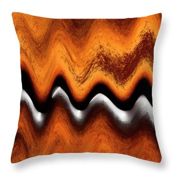 Fault Finding Throw Pillow by Kellice Swaggerty