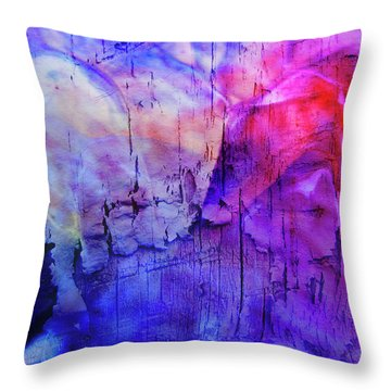 Faux Chasm Throw Pillow