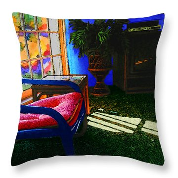 Faux Fauve Interior Throw Pillow