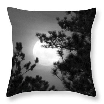 Favorite Full Moon Throw Pillow
