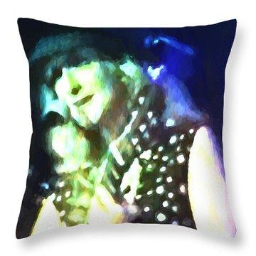 Favorite Jazz Singer Throw Pillow