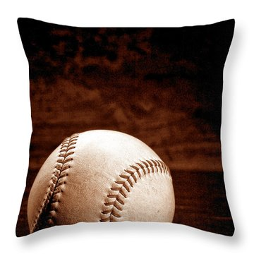 Favorite Pastime  Throw Pillow by Olivier Le Queinec