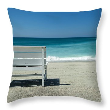 Favorite View Throw Pillow