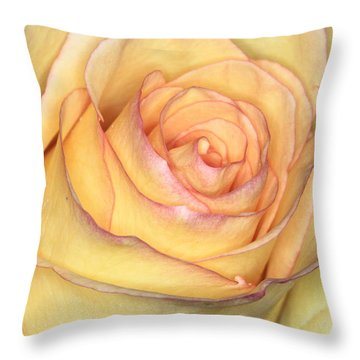 Favorite Yellow Throw Pillow