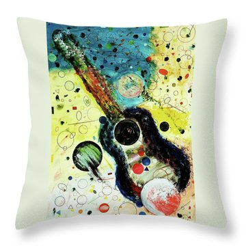 Throw Pillow featuring the mixed media Favorites by Michael Lucarelli